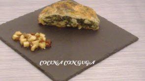 Strudel de Manzana con Espinacas (Apple Strudel Receta)