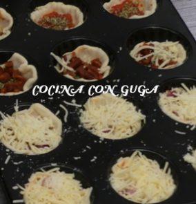 foto de Guga sobre cupcakes pizzas