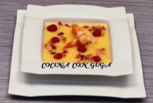 sopa fría de naranja
