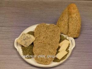 pan tuneado con quesos