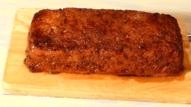 Pastel de carne picada. Deliciosa carne trufada