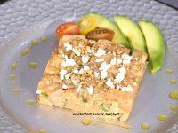 Tartar de salmón Delicioso plato para días de fiesta