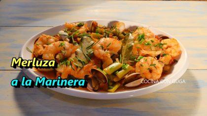 Merluza a la Marinera en Cazuela