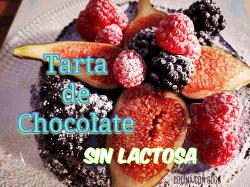 Tarta de Chocolate Casera sin Lactosa y sin Gluten