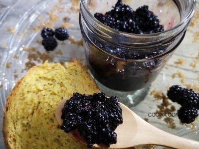 Cómo hacer mermelada de moras zarzamoras