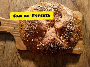 Receta de Pan de Espelta Crujiente con suero de leche