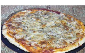 masa de pizza con cerveza