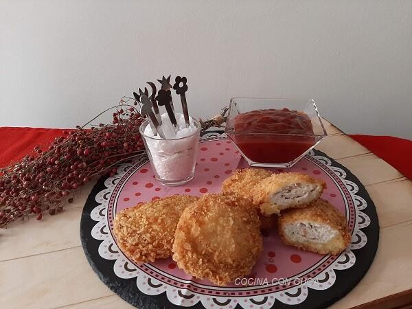 receta de los nuggets de pollo