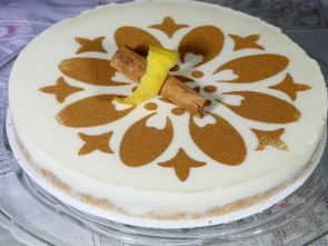 galletas de canela tarta