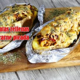 Patatas Rellenas de carne picada