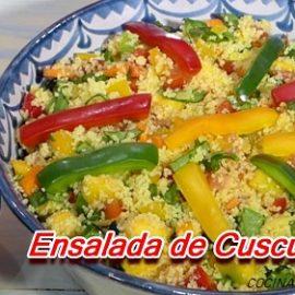 Cómo hacer Ensalada de Cuscus fría