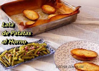 lata de patatas al horno