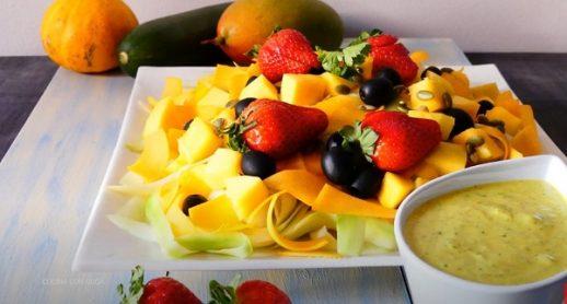 receta de ensalada de mango