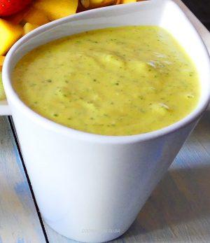 salsa de mango para ensalada