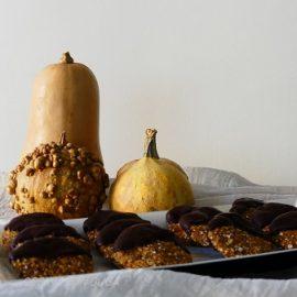 Cómo hacer galletas de calabaza y avena con chocolate