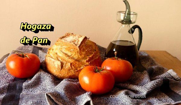 hogaza de pan casero fácil