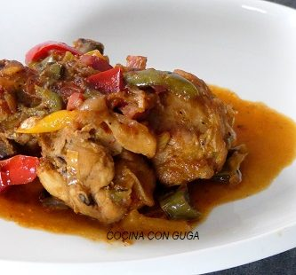 pollo al chilindrón receta tradicional